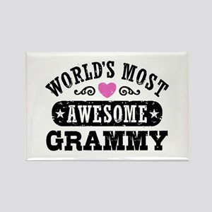 World's Most Awesome Grammy Rectangle Magnet