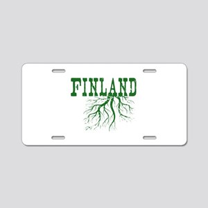 Finland Roots Aluminum License Plate