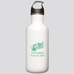 Going to be Aunt Stainless Water Bottle 1.0L