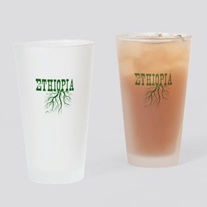 Ethiopia Roots Drinking Glass