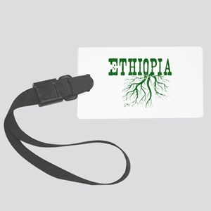 Ethiopia Roots Large Luggage Tag