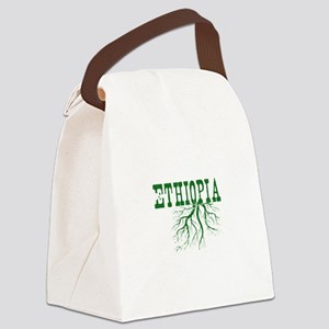 Ethiopia Roots Canvas Lunch Bag