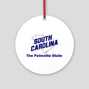 South Carolina . . . The Palm Ornament (Round)