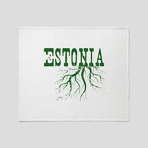 Estonia Roots Throw Blanket