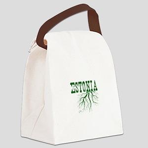 Estonia Roots Canvas Lunch Bag