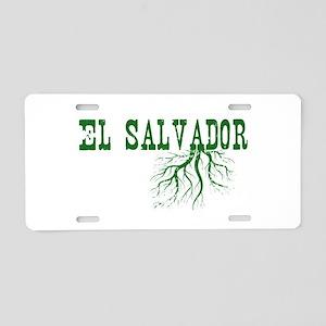 El Salvador Roots Aluminum License Plate