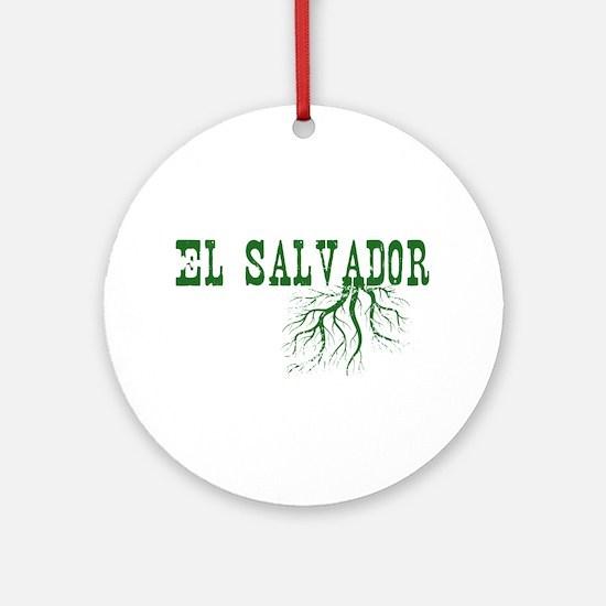 El Salvador Roots Ornament (Round)