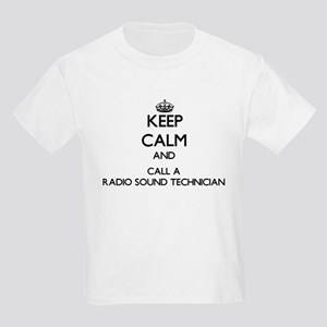 Keep calm and call a Radio Sound Technicia T-Shirt
