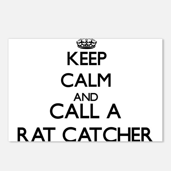 Keep calm and call a Rat Postcards (Package of 8)