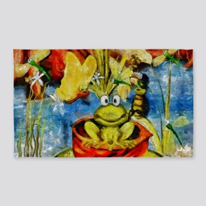 Frog Party 3'x5' Area Rug
