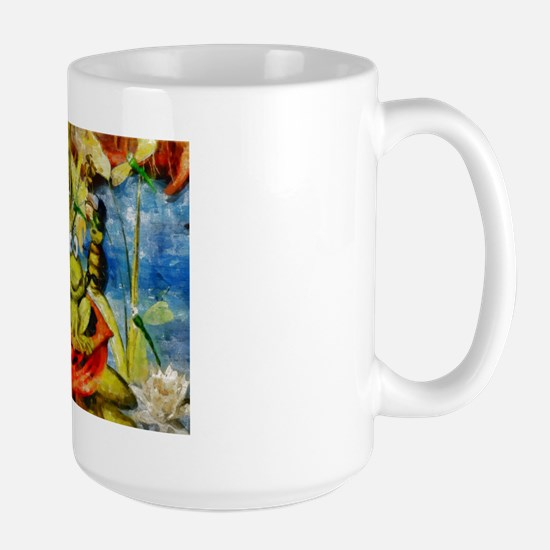 Frog Party Large Mug Mugs