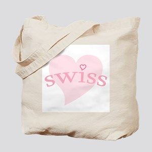 """Swiss with Heart"" Tote Bag"