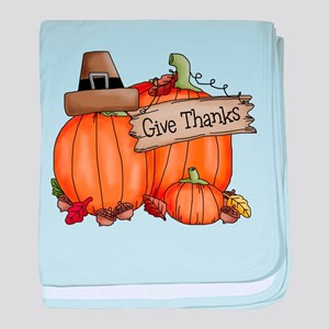 Thanksgiving baby blanket