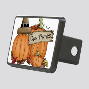 Thanksgiving Rectangular Hitch Cover