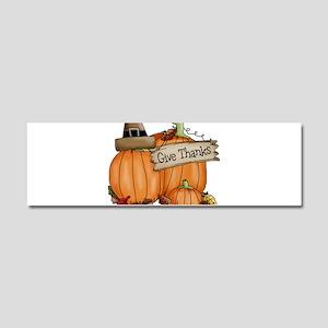 Thanksgiving Car Magnet 10 x 3