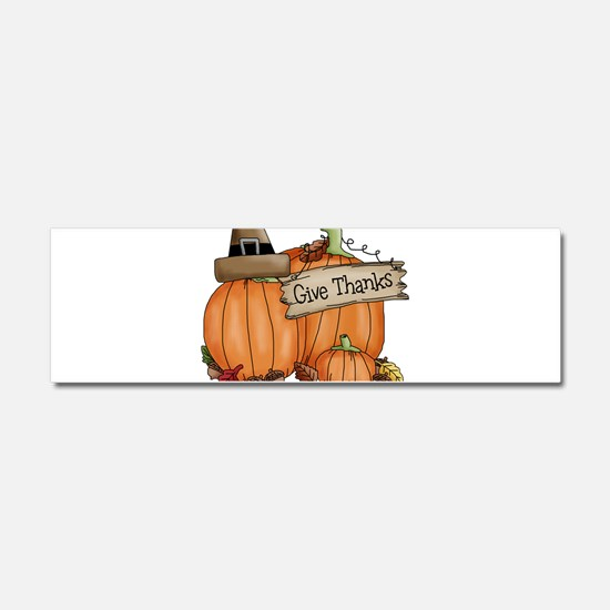 Thanksgiving Car Magnet 10 x 3