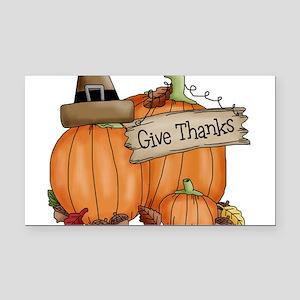 Thanksgiving Rectangle Car Magnet