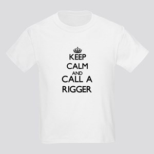 Keep calm and call a Rigger T-Shirt