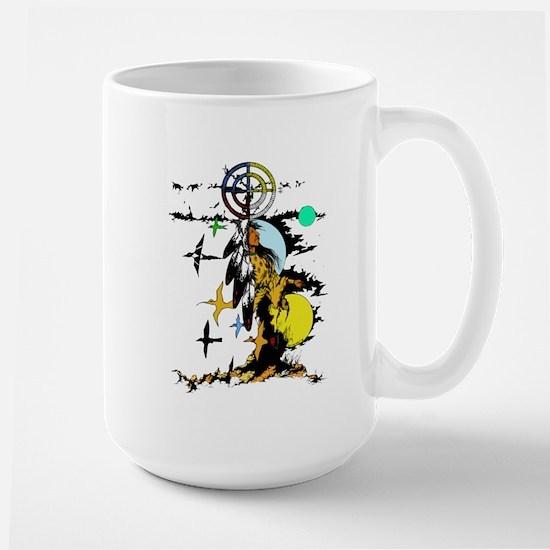 Star Woman Large Mug