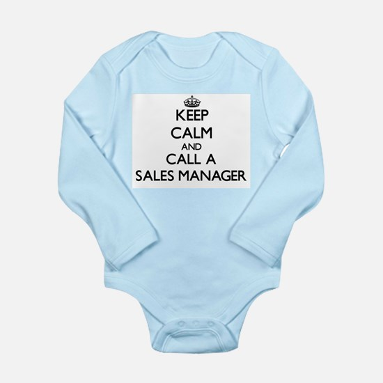 Keep calm and call a Sales Manager Body Suit