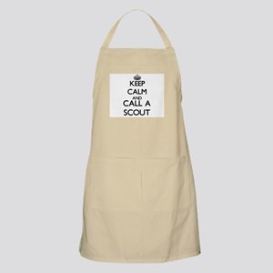 Keep calm and call a Scout Apron