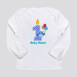 1st birthday Long Sleeve Infant T-Shirt