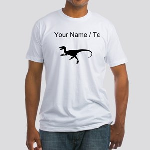 Velociraptor Silhouette (Custom) T-Shirt