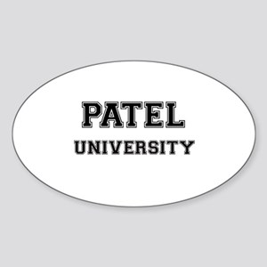 PATE UNIVERSITY Oval Sticker