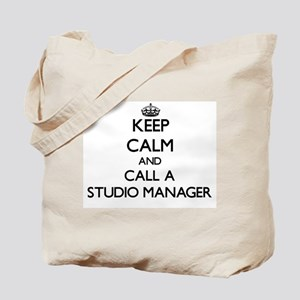 Keep calm and call a Studio Manager Tote Bag