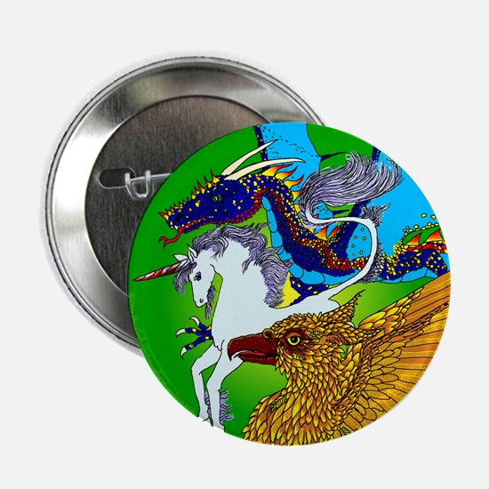 "Defenders: Green 2.25"" Button (100 pack)"