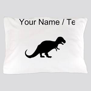 Tyrannosaurus Rex Silhouette (Custom) Pillow Case