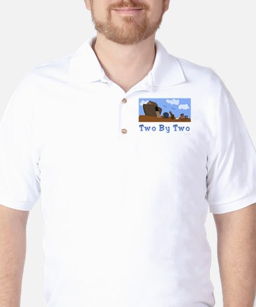 Noah's Ark Two By Two Golf Shirt