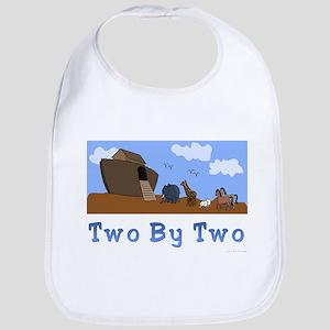Noah's Ark Two By Two Bib