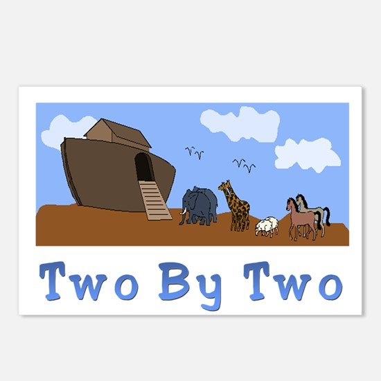 Noah's Ark Two By Two Postcards (Package of