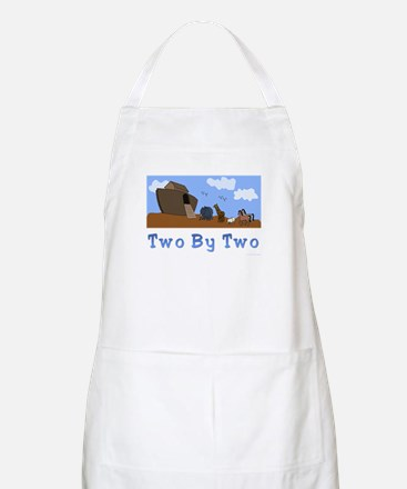 Noah's Ark Two By Two BBQ Apron