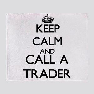 Keep calm and call a Trader Throw Blanket