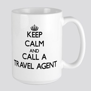 Keep calm and call a Travel Agent Mugs