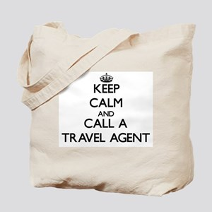 Keep calm and call a Travel Agent Tote Bag