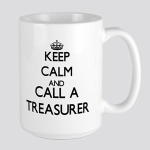 Keep calm and call a Treasurer Mugs