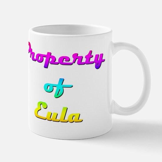 Property Of Eula Female Mug