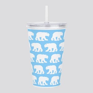 Polar Bears Acrylic Double-wall Tumbler
