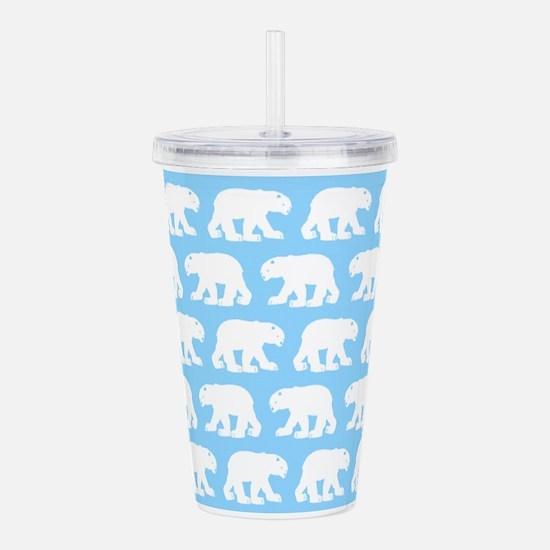 Polar Bears Acrylic Double-wall Tumbler