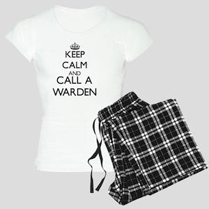 Keep calm and call a Warden Women's Light Pajamas