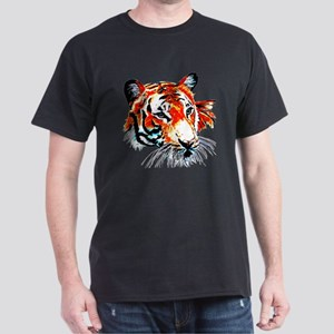 Neon Tiger Dark T-Shirt