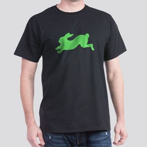 Green Rabbit Running T-Shirt