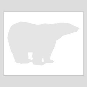 Grey Polar Bear Posters