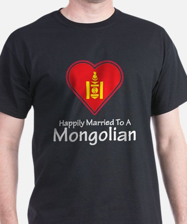 Happily Married Mongolian T-Shirt