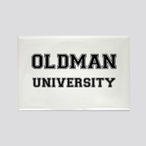OLDMAN UNIVERSITY Rectangle Magnet