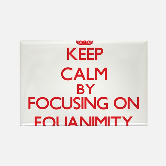 Keep Calm by focusing on EQUANIMITY Magnets