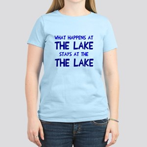 Happens at lake stays Women's Light T-Shirt